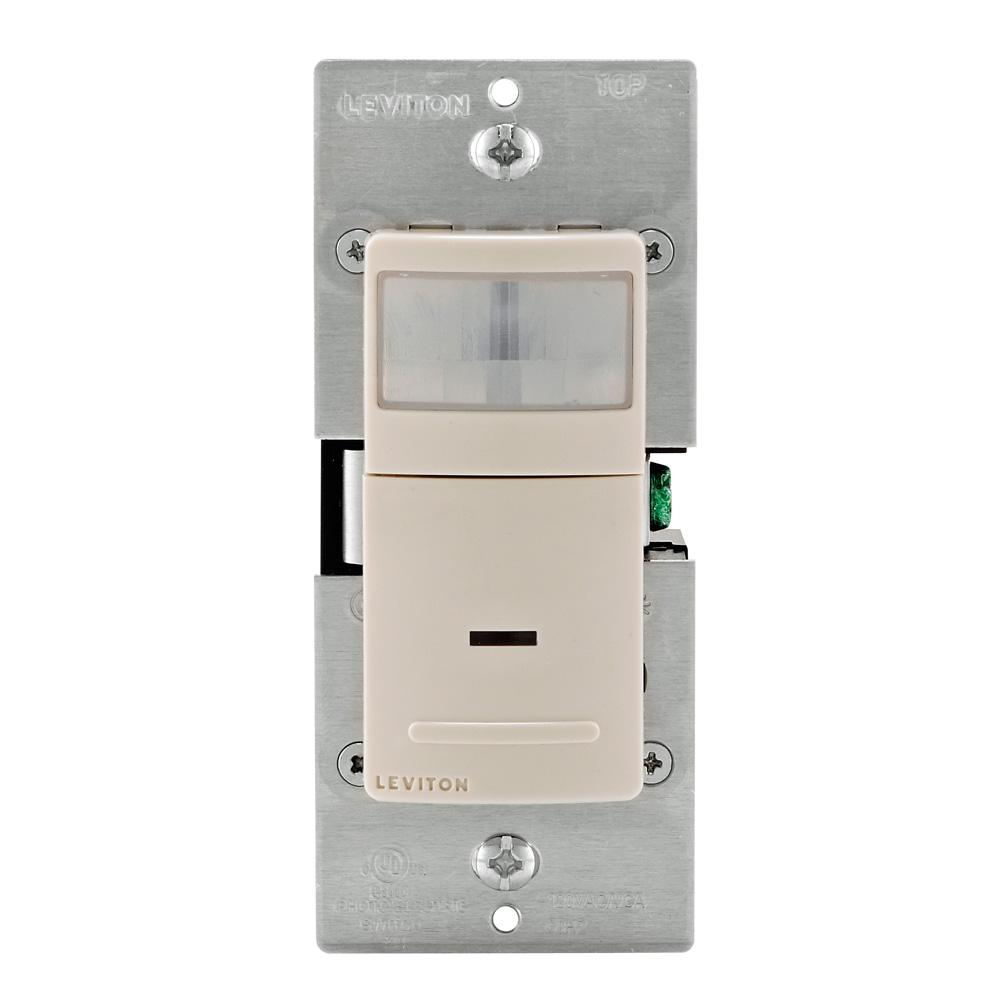 150-Watt LED, 300-Watt Inc Decora 900 sq. ft. Manual-On Motion Sensor