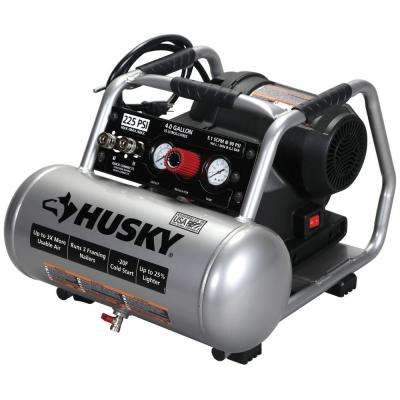 4 Gal. 225 PSI High Performance Crew Electric Portable Air Compressor