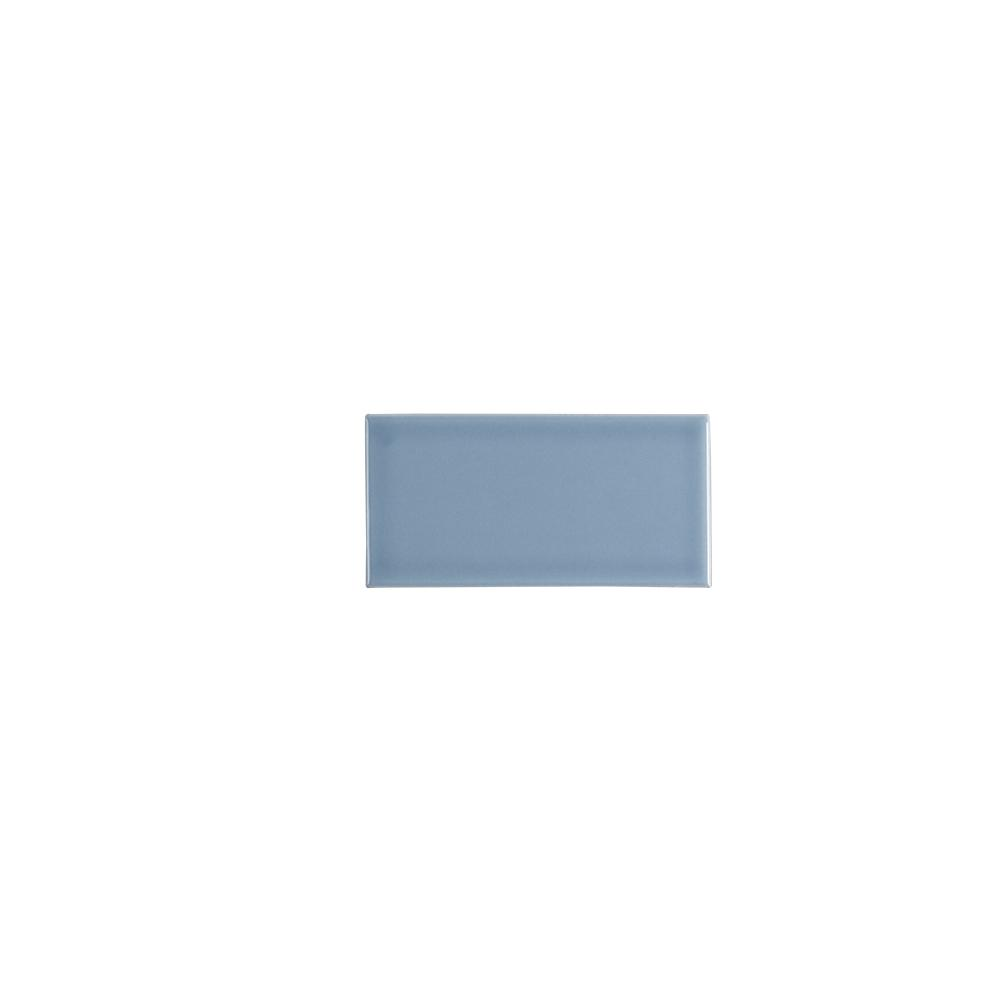 Jeffrey Court Beverly Blue 3 in. x 6 in. Ceramic Wall Tile (12.5 sq ...