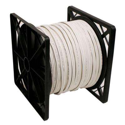 500 ft. RG59 Closed Circuit TV Coaxial Cable with 18/2 Power and 24/2 Data - White