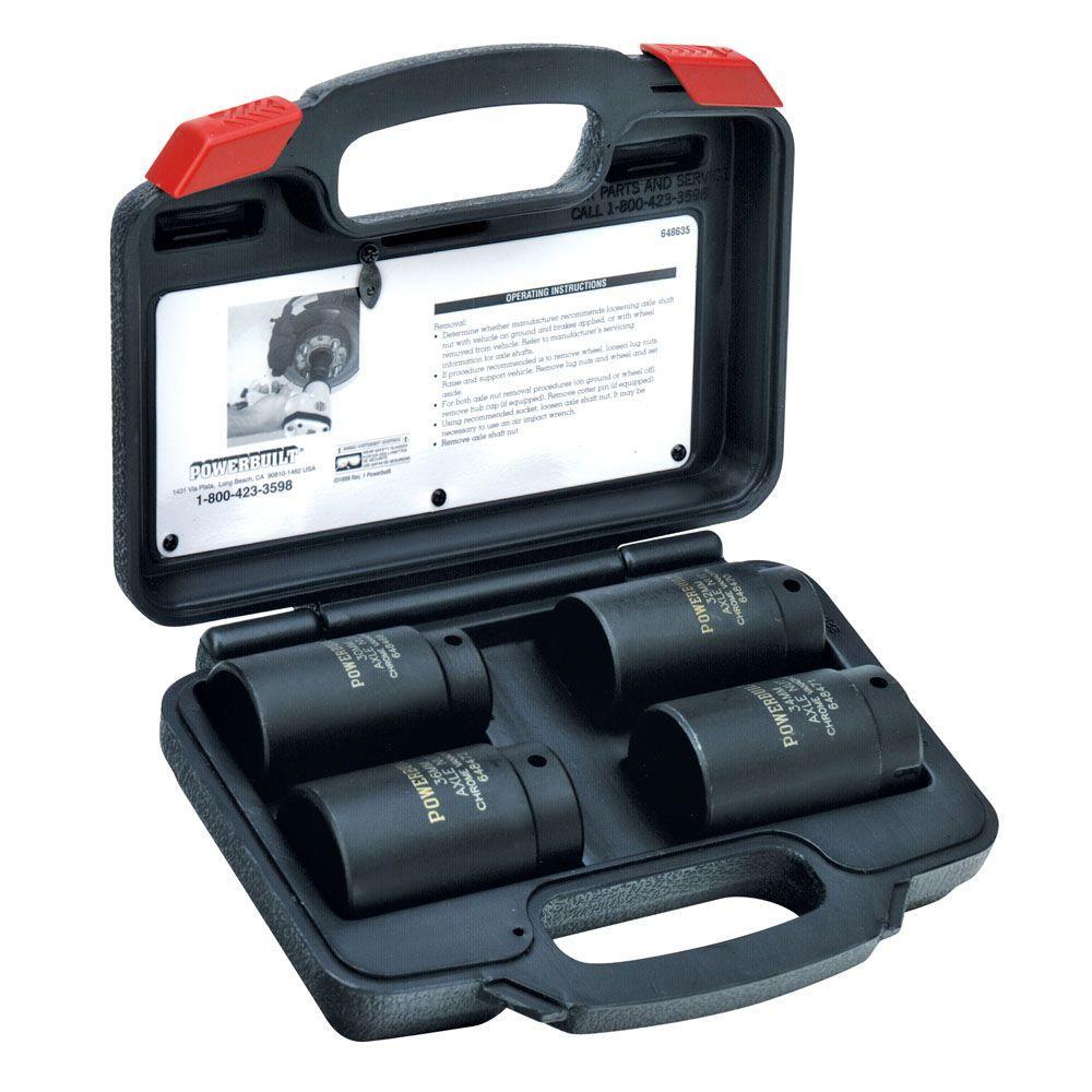 Powerbuilt Axle Nut Socket Kit