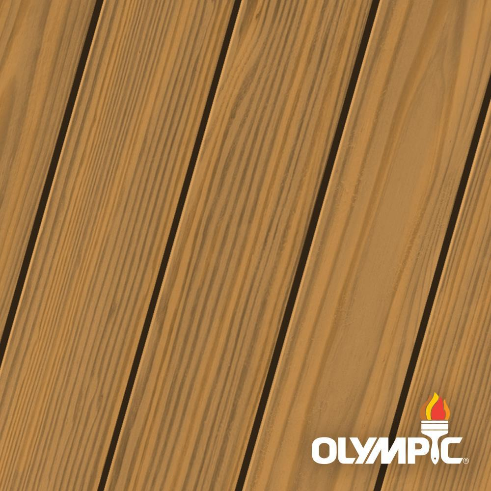 Olympic Maximum 1 gal. Cedar Natural Tone Semi-Transparent Exterior Stain and Sealant in One