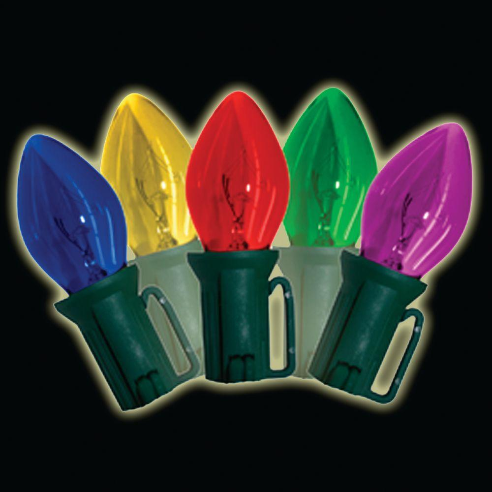 Brite Star 25-Light Multi-Color Old Fashioned Lights (Set of 2)