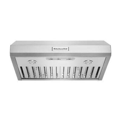 30 in. Under the Cabinet Commercial-Style Range Hood in Stainless Steel