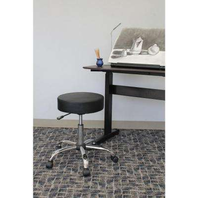 Black Caressoft Medical Stool