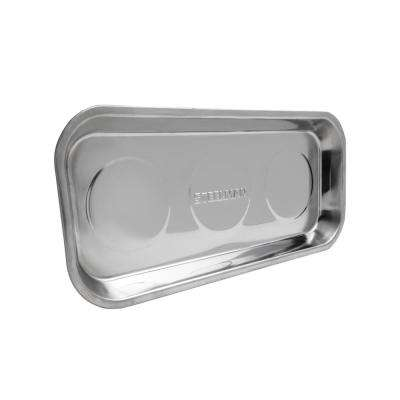 14 in. Triple Magnet Rectangular Parts Tray