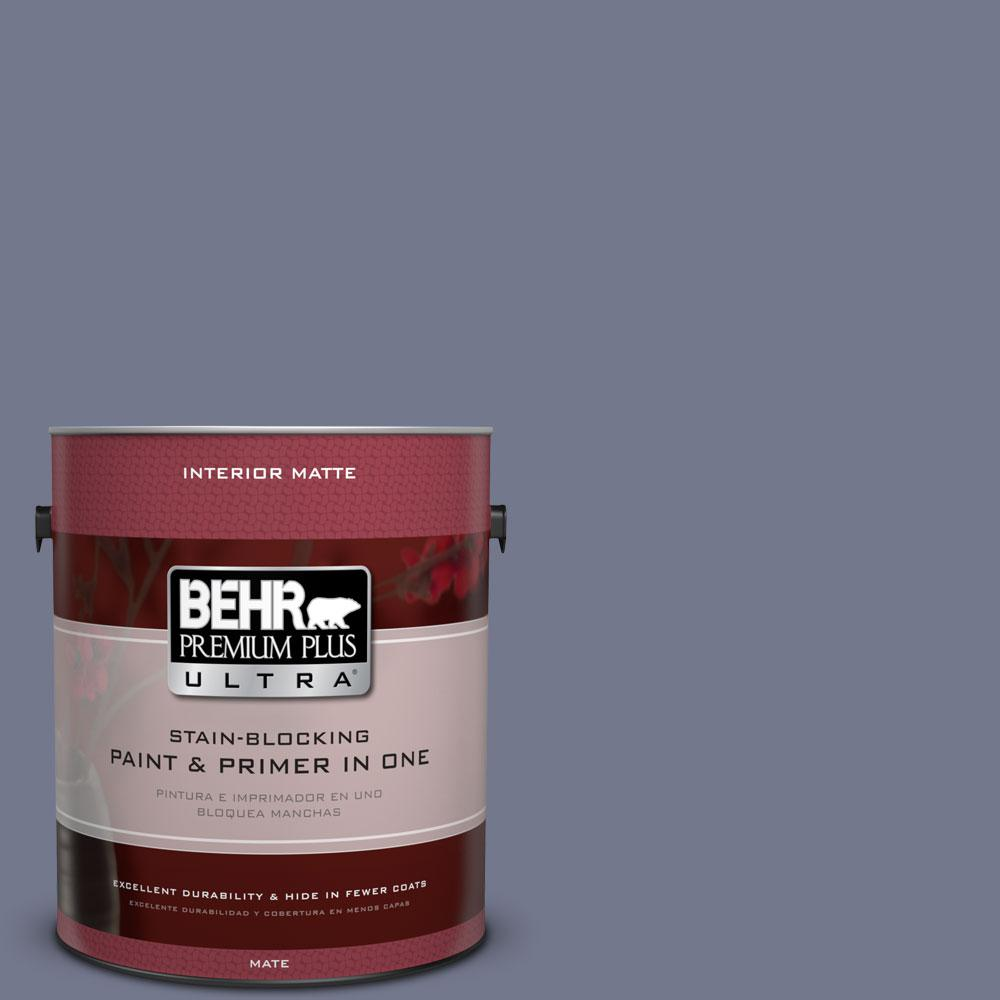 Good BEHR Premium Plus Ultra 1 Gal. #S550 5 Fantasia Matte Interior Paint