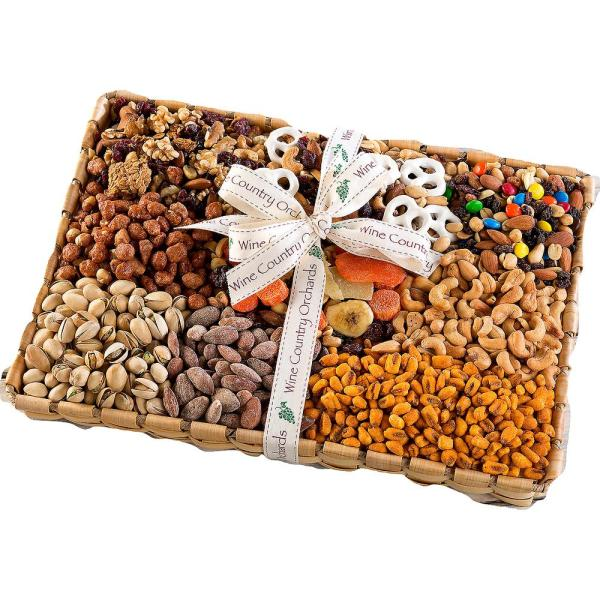 Wine Country Gift Baskets Gourmet Mixed Nuts Gift Box
