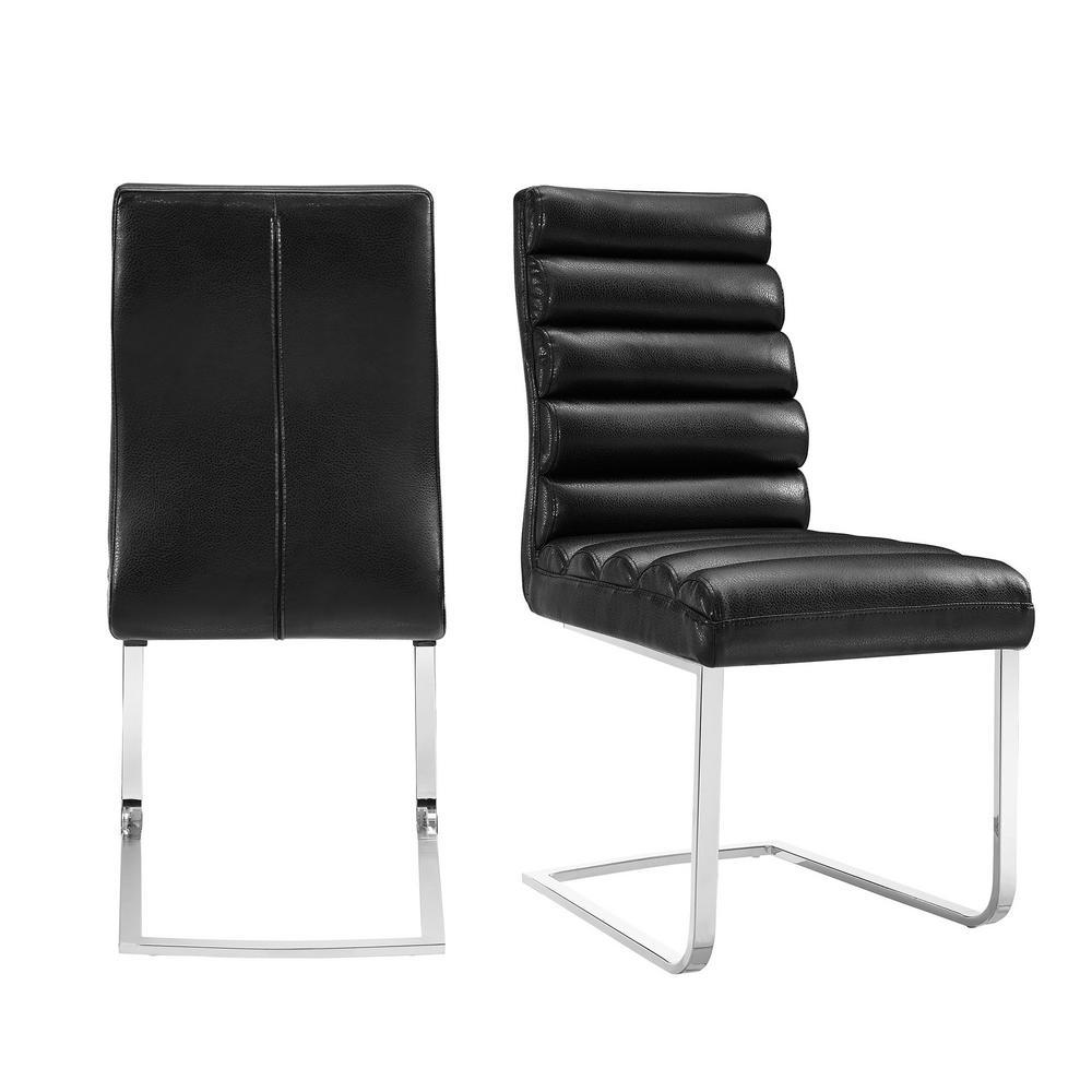 Soho Black Modern Dining chair