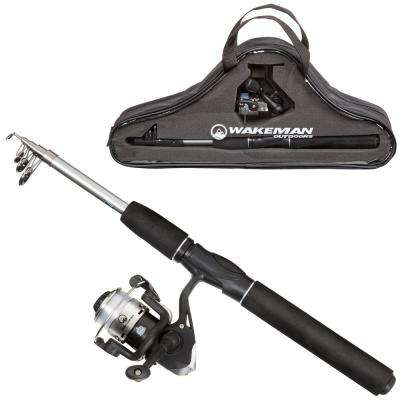 Ultra Telescopic Spinning Rod and Reel