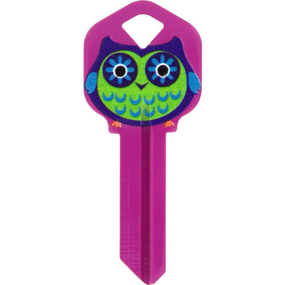 Wackey 66 Owl Key Blank 446505 The Home Depot