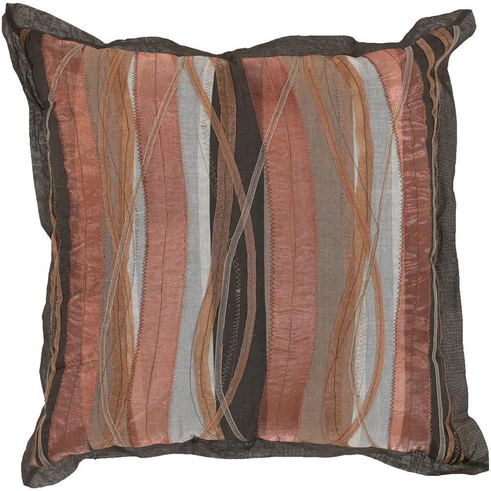 Artistic Weavers Abstract B1 18 in. x 18 in. Decorative Down Pillow