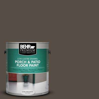 1 gal. #SC-103 Coffee Low-Lustre Porch and Patio Interior/Exterior Floor Paint