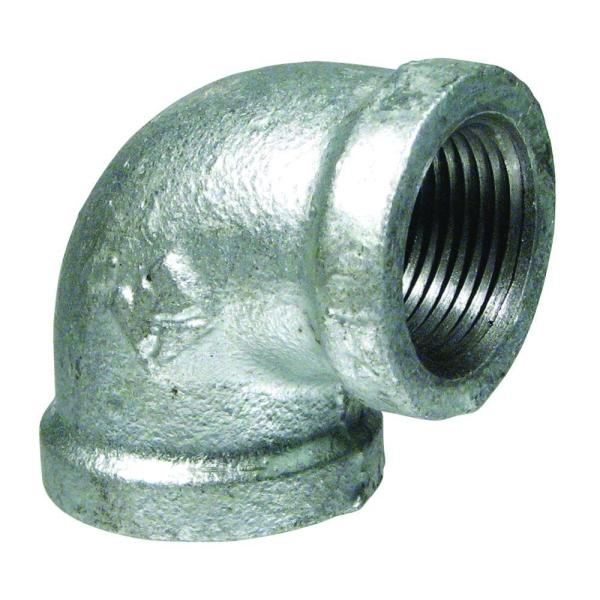 Metal Cast Pipe Fittings for DIY Furniture Projects 90 Degree Pipe Elbow Decorative Iron Piping Iycorish 10 Pack Elbow Pipes 3//4 Plumbing Threaded Pipe