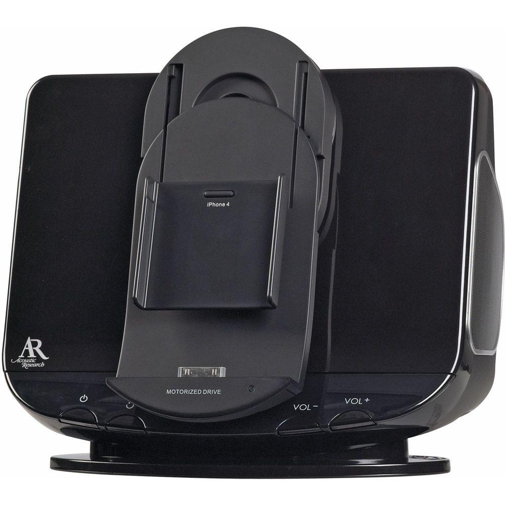 Acoustic Research App-Enhanced Motorized Speaker System with iPad/iPod/iPhone Dock-DISCONTINUED