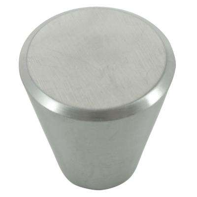 Brickell 1-1/4 in. Stainless Steel Cone Cabinet Knob