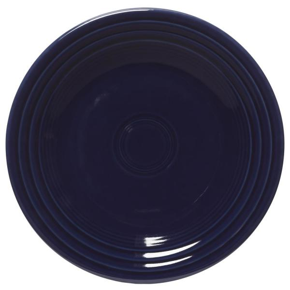 Fiesta Cobalt Blue Luncheon Plate 465105U