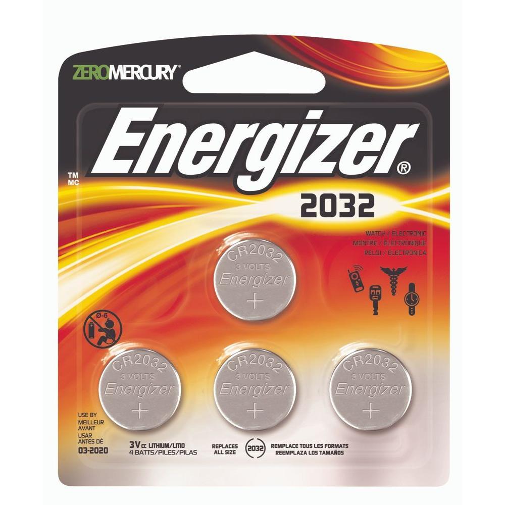2032-4pk Lithium Battery