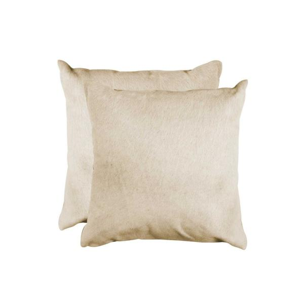HomeRoots 100% Sheepskin 12 in. x 20 in. Chocolate Pillow 316969