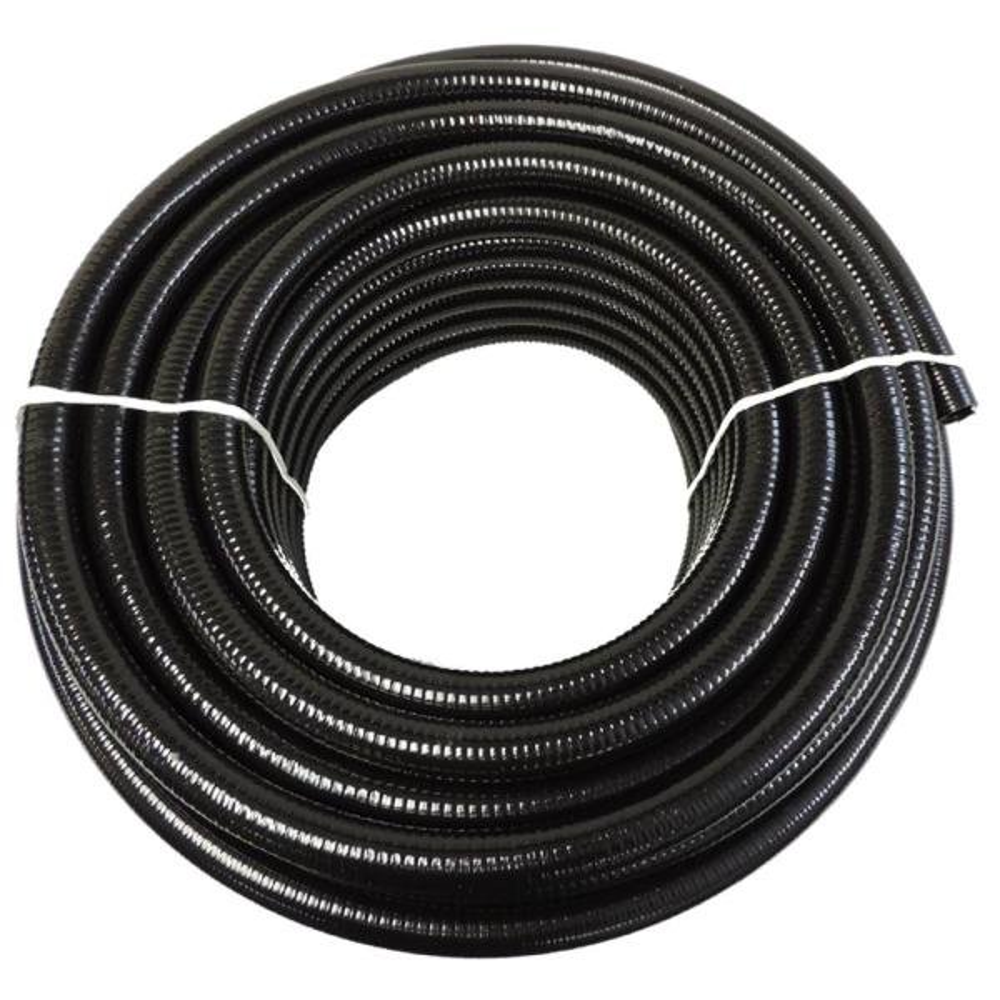 3/4 in. x 10 ft. Black PVC Schedule 40 Flexible Pipe