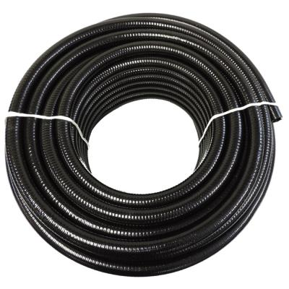 1-1/2 in. x 10 ft. Black PVC Schedule 40 Flexible Pipe