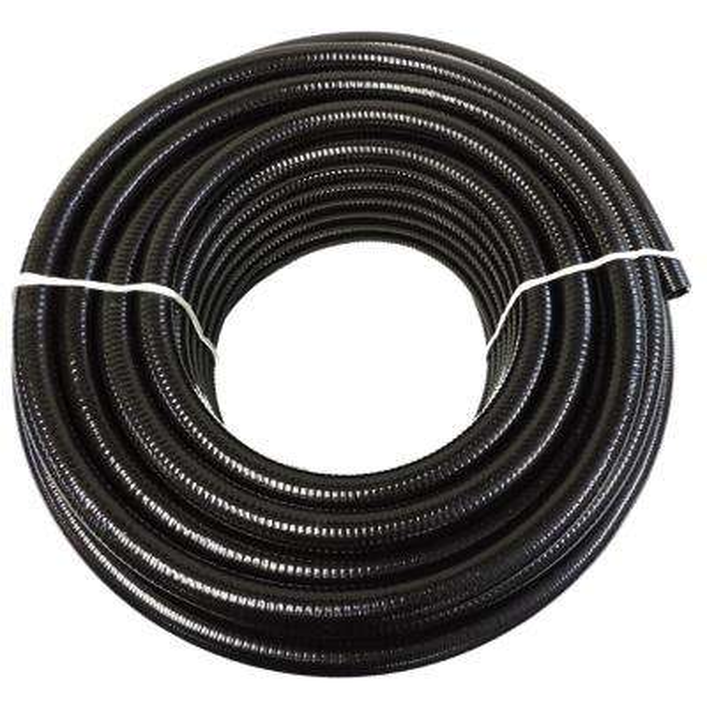 3 in. x 50 ft. Black PVC Schedule 40 Flexible Pipe