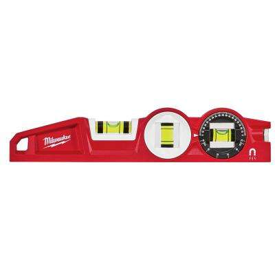 10 in. 360° Locking Die Cast Torpedo Level