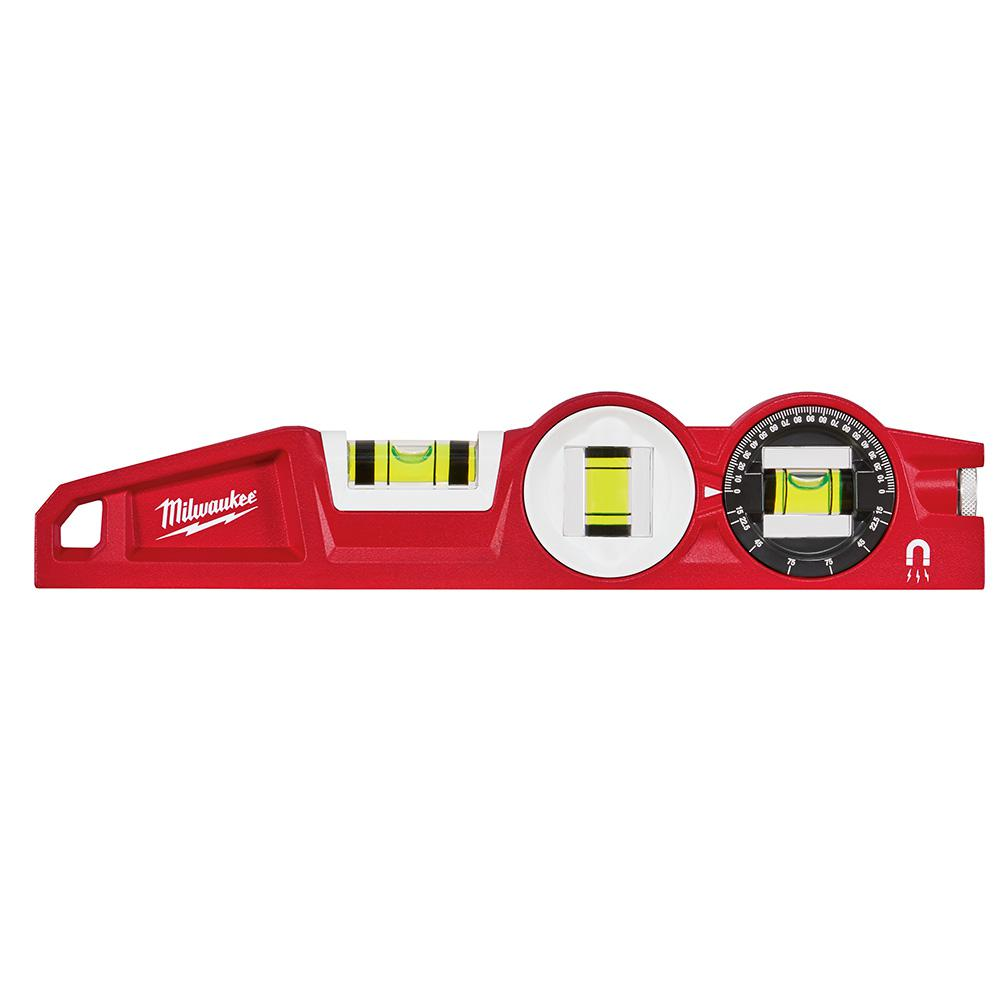 Milwaukee 10 in. 360 Degree Locking Die Cast Torpedo Level
