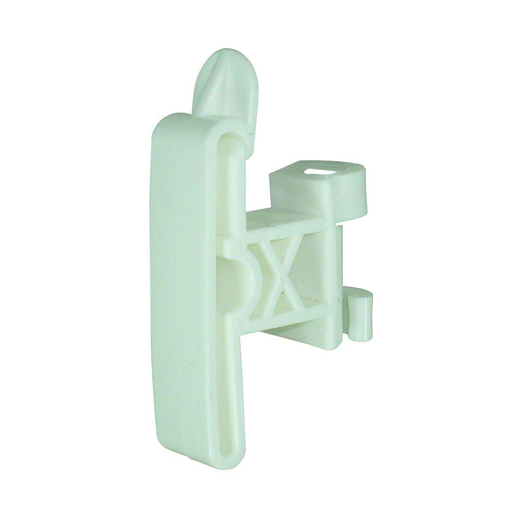 Field Guardian 7-8 mm Round Post Clip-On Insulator - White