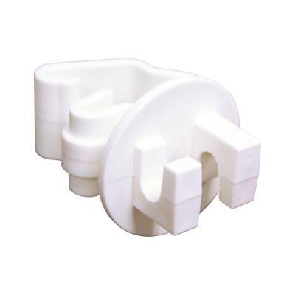 White T-Post Insulator (25-Bag)