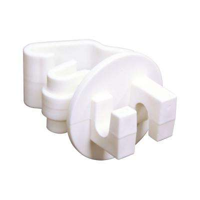 White T-Post Insulator (25-Bag)