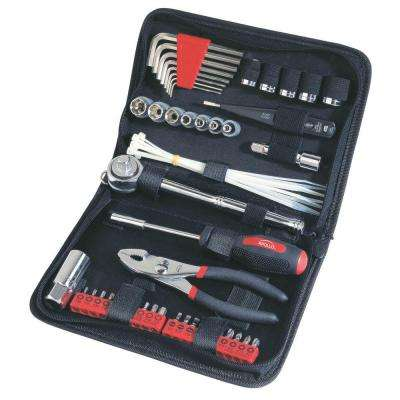 Auto Tool Set in Zipper Case (56-Piece)