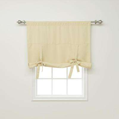 Basic 42 in. W X 63 in. L Drapery Panel in Beige