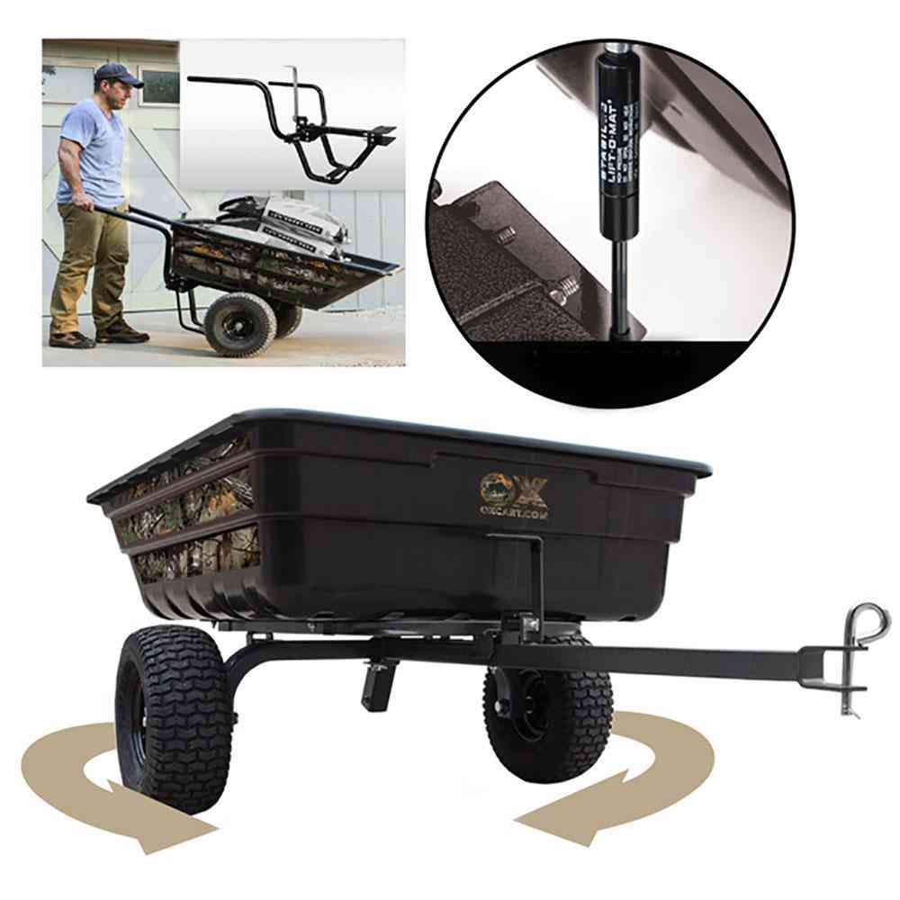 OXCART Realtree 12 cu. ft. - 14 cu. ft. Half-Ton Lift-Assist and - Sale: $399.99 USD (10% off)