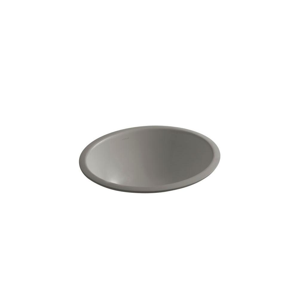 KOHLER Caxton Under-mount Bathroom Sink in Cashmere-DISCONTINUED