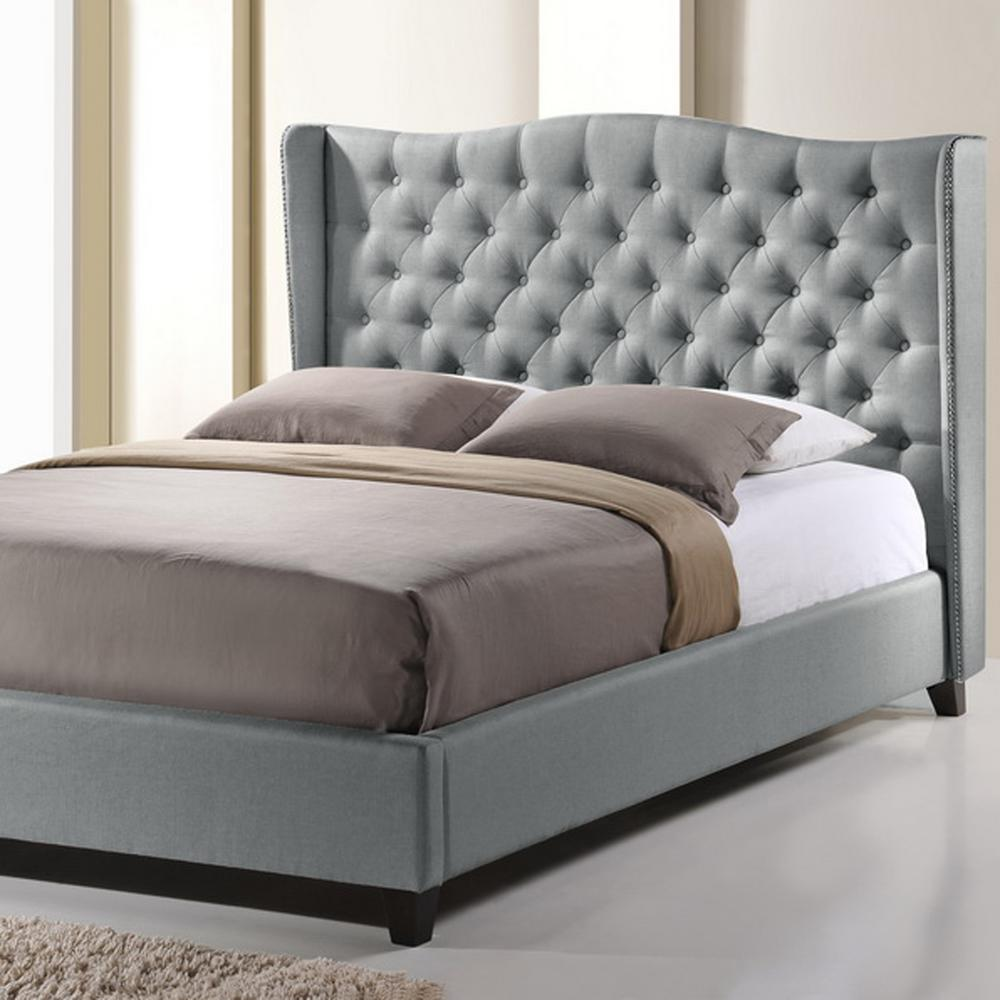 baxton studio norwich transitional gray fabric upholstered king size bed 28862 5198 hd the. Black Bedroom Furniture Sets. Home Design Ideas