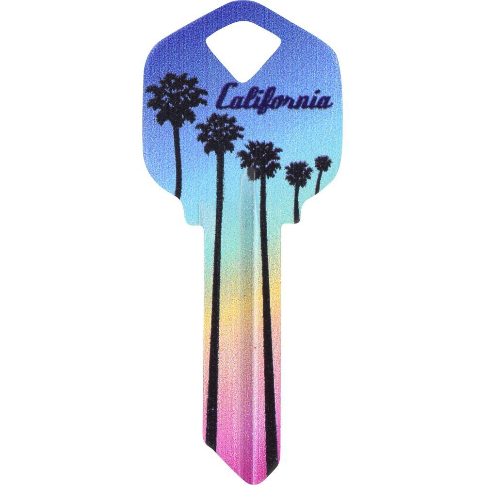 Hillman Kwikset California Key Blank 88986 The Home Depot