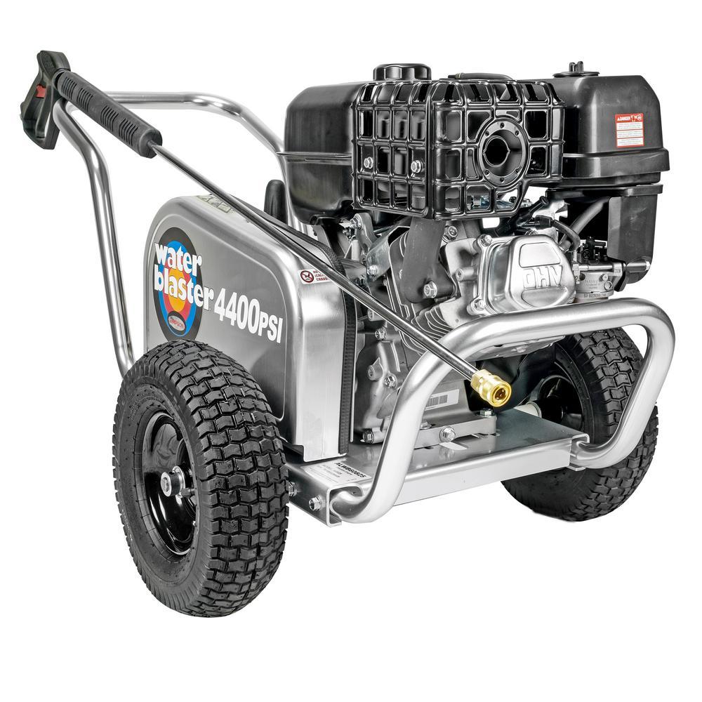 Aluminum Water Blaster ALWB60826 4400 PSI at 4.0 GPM HONDA GX390 Cold Water Pressure Washer