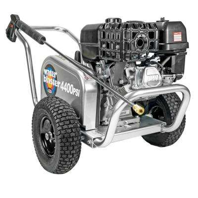 SIMPSON Aluminum Water Blaster ALWB60825 4400 PSI at 4.0 GPM SIMPSON 420 Belt Drive Cold Water Pressure Washer