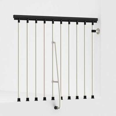 SKY030 47 in. White Balcony Rail Kit