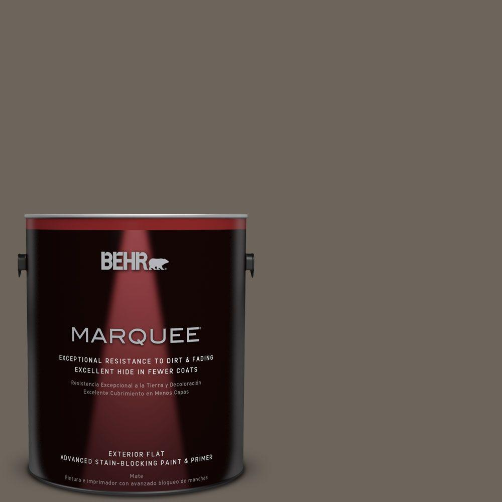 1-gal. #N360-6 Patio Stone Flat Exterior Paint