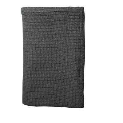Cotton Weave Knitted Blanket