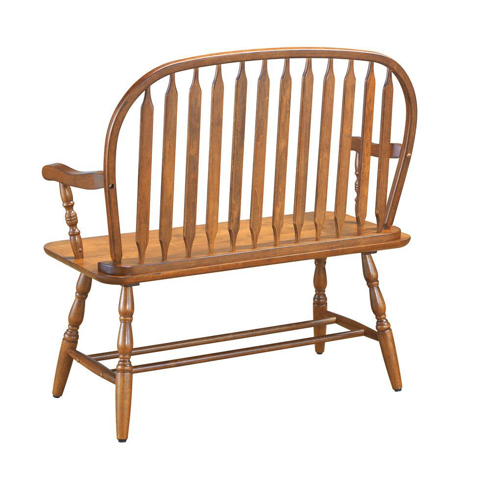 Internet 204326555 2 Carolina Cottage Windsor Oak Bench