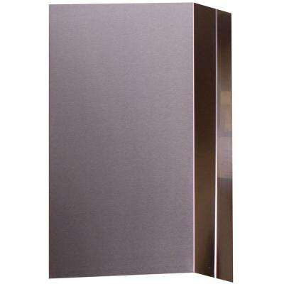 24 in. Stainless Steel Flue Extension for MIPH36S-4H Island Range Hood