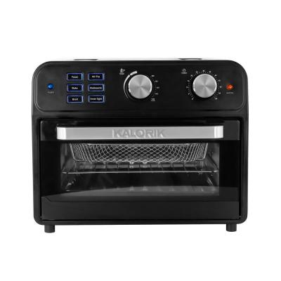 22 Qt. Black Digital Air Fryer Toaster Oven