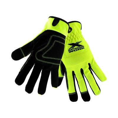 Extreme Work Hi-Dex Large Economy Gloves with Padded Knuckle