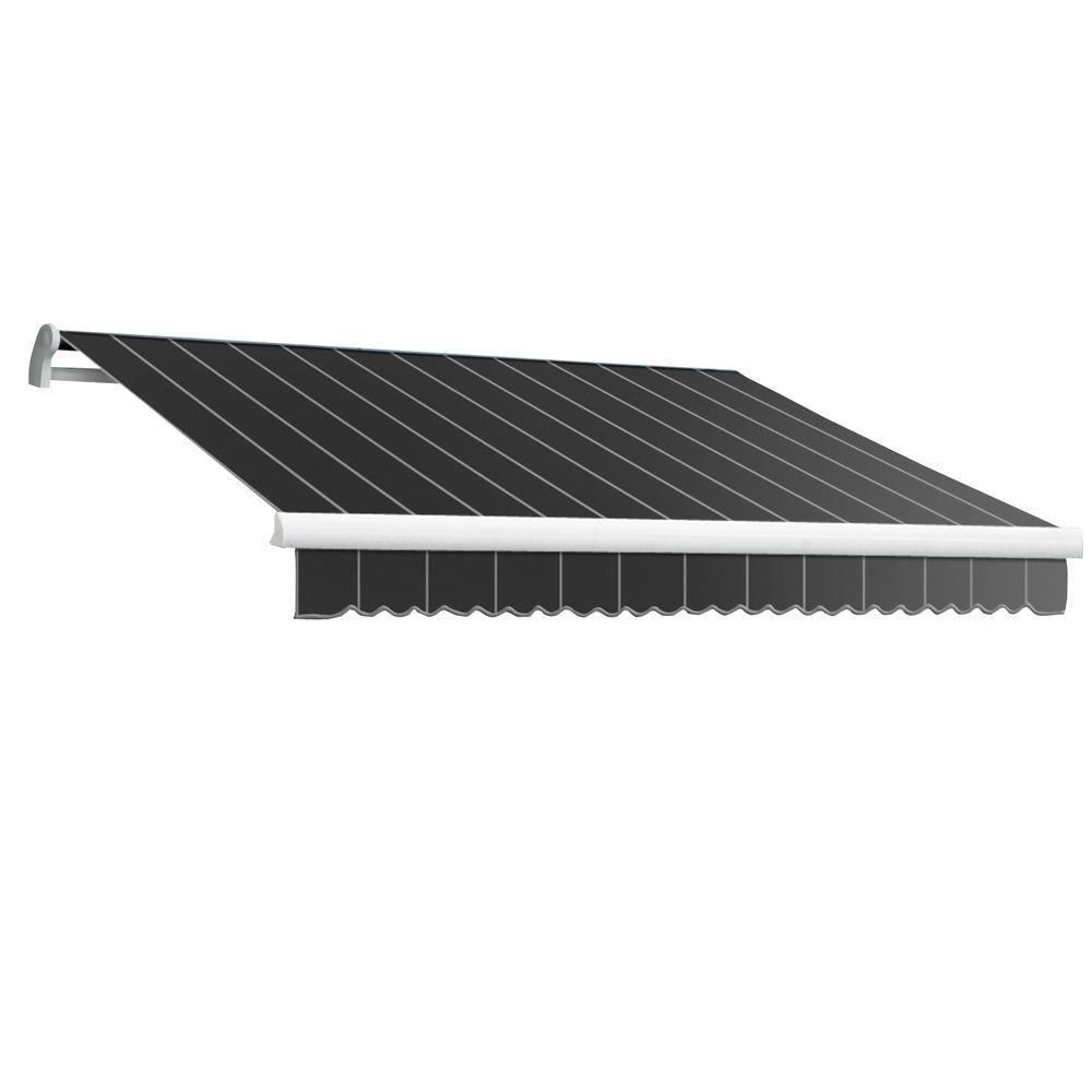 20 ft. LX-Maui Right Motor with Remote Retractable Acrylic Awning (120