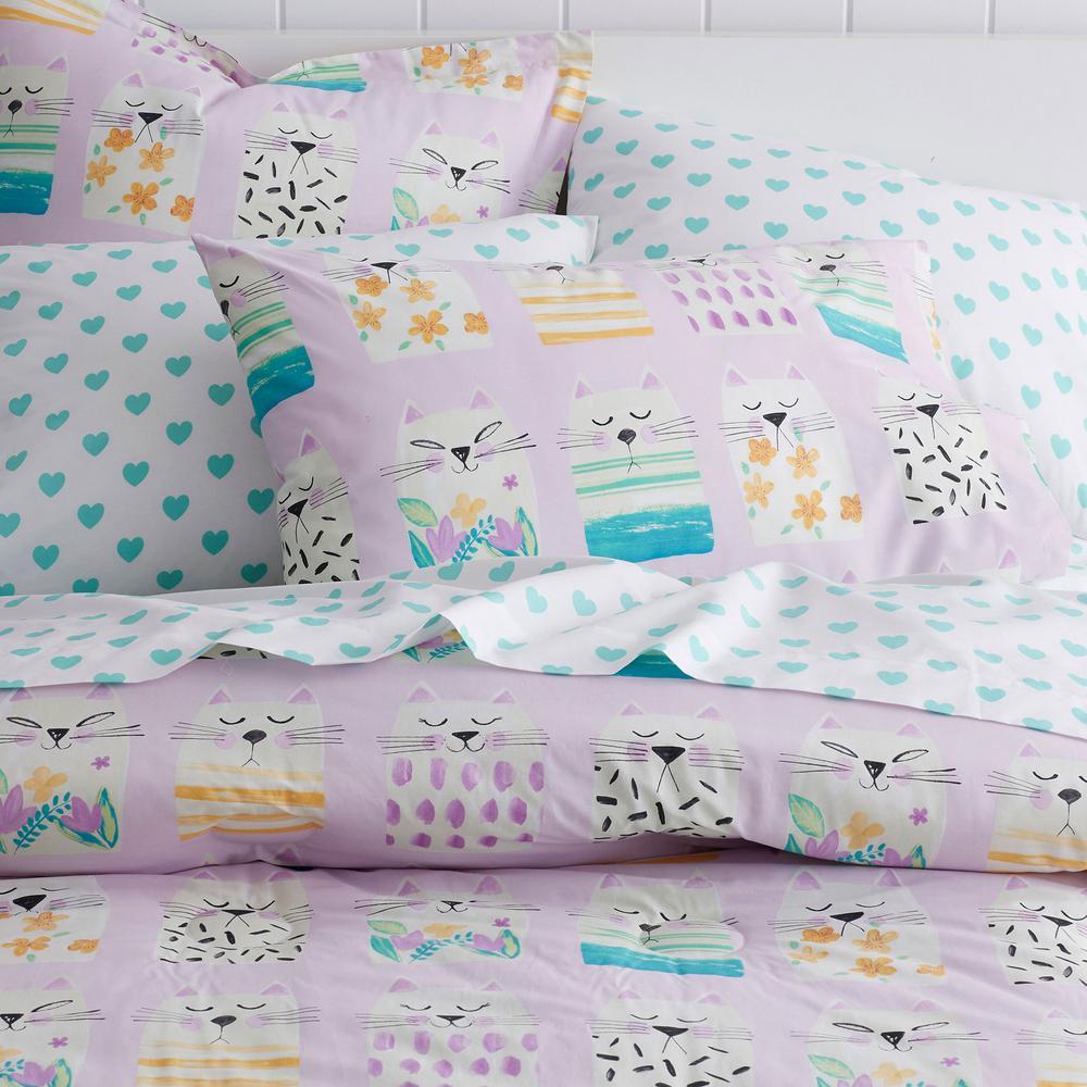 Copy Cat Cotton Percale Duvet Cover
