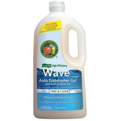 40 oz. Squeeze Bottle Free and Clear Wave Gel Dishwasher Detergent
