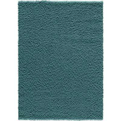 Pacifica Twist Light Blue 7 ft. 6 in. x 10 ft. Area Rug